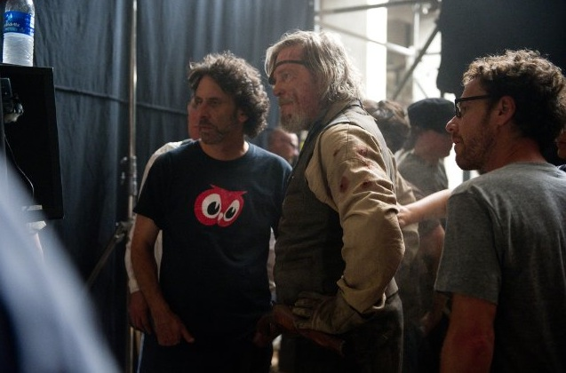 Jeff Bridges and the Coen Brothers
